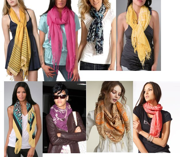 Style your Scarf this Winter